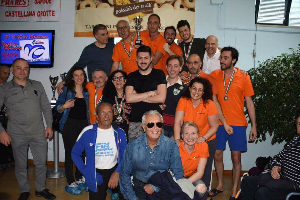 Trofeo Swim on the caves a Bari, piscina e nuoto a Bari